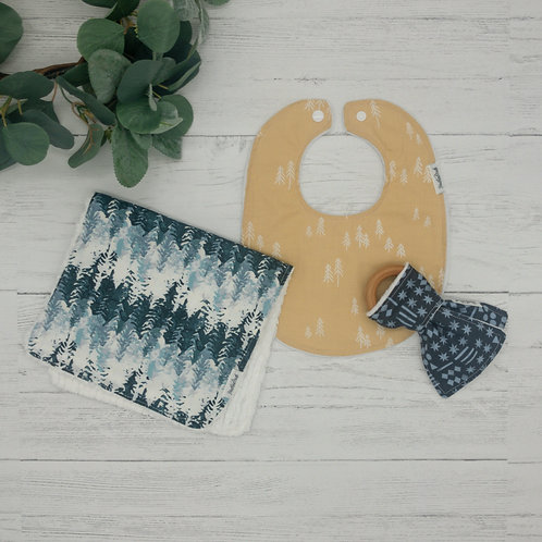 Forest Trees Baby Gift Bundle