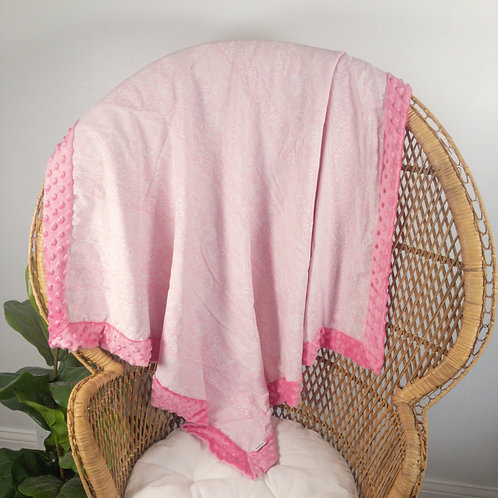 Pink Lace Vintage Blanket