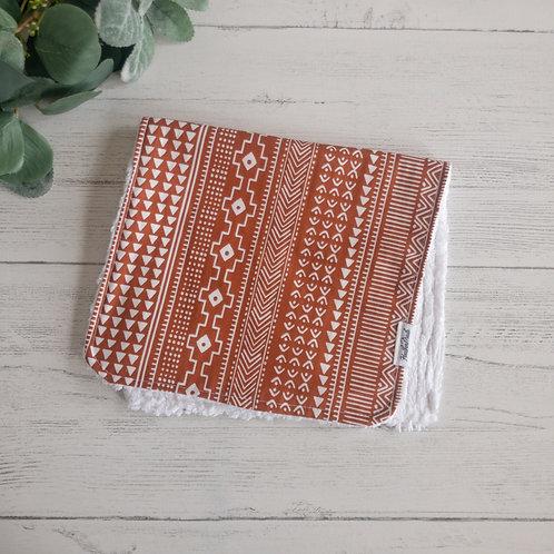 Mudcloth Pattern Burp Cloth