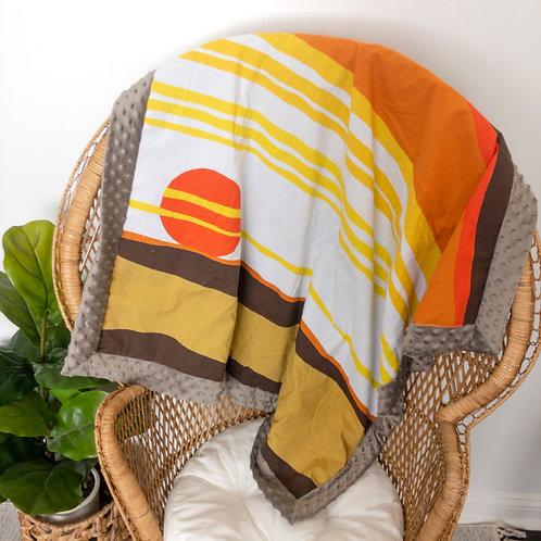 Sunset Vintage Blanket