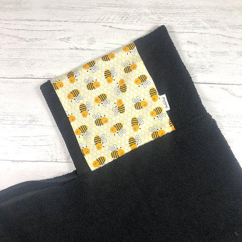 Honey Bees Hooded Towel