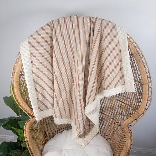 Groovy Lines Vintage Blanket