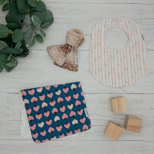 Fawn & Strawberries Baby Gift Bundle
