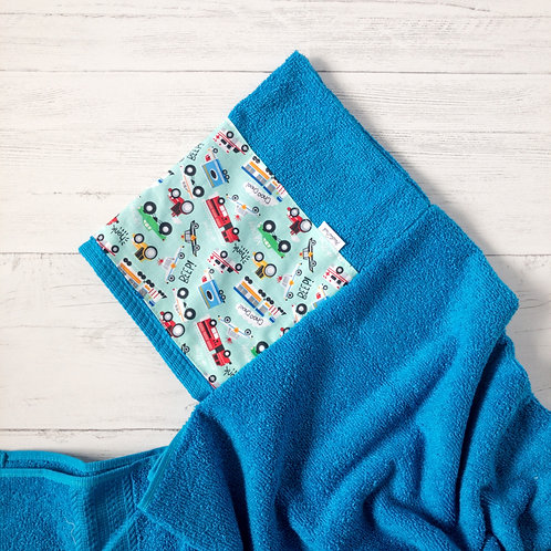 Cars & Trucks Hooded Towel