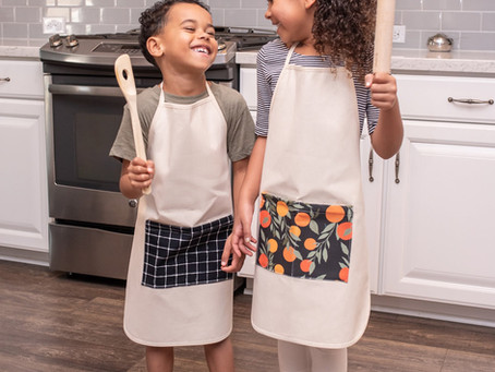 New Pocket Aprons Available Now!