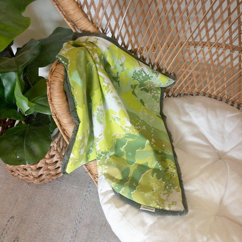 Green Watercolor Vintage Lovie