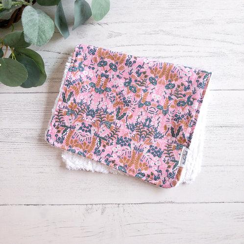 Menagerie Tapestry Violet Burp Cloth
