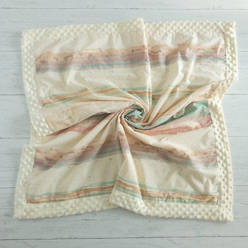 Boho Watercolor Vintage Blanket