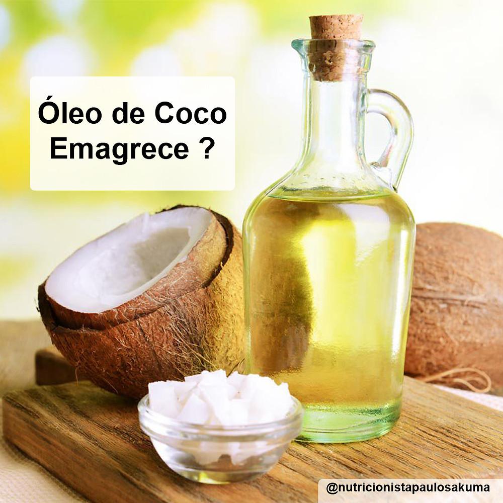oleo de coco emagrece