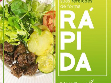Aprenda a preparar suas refeições de forma rápida