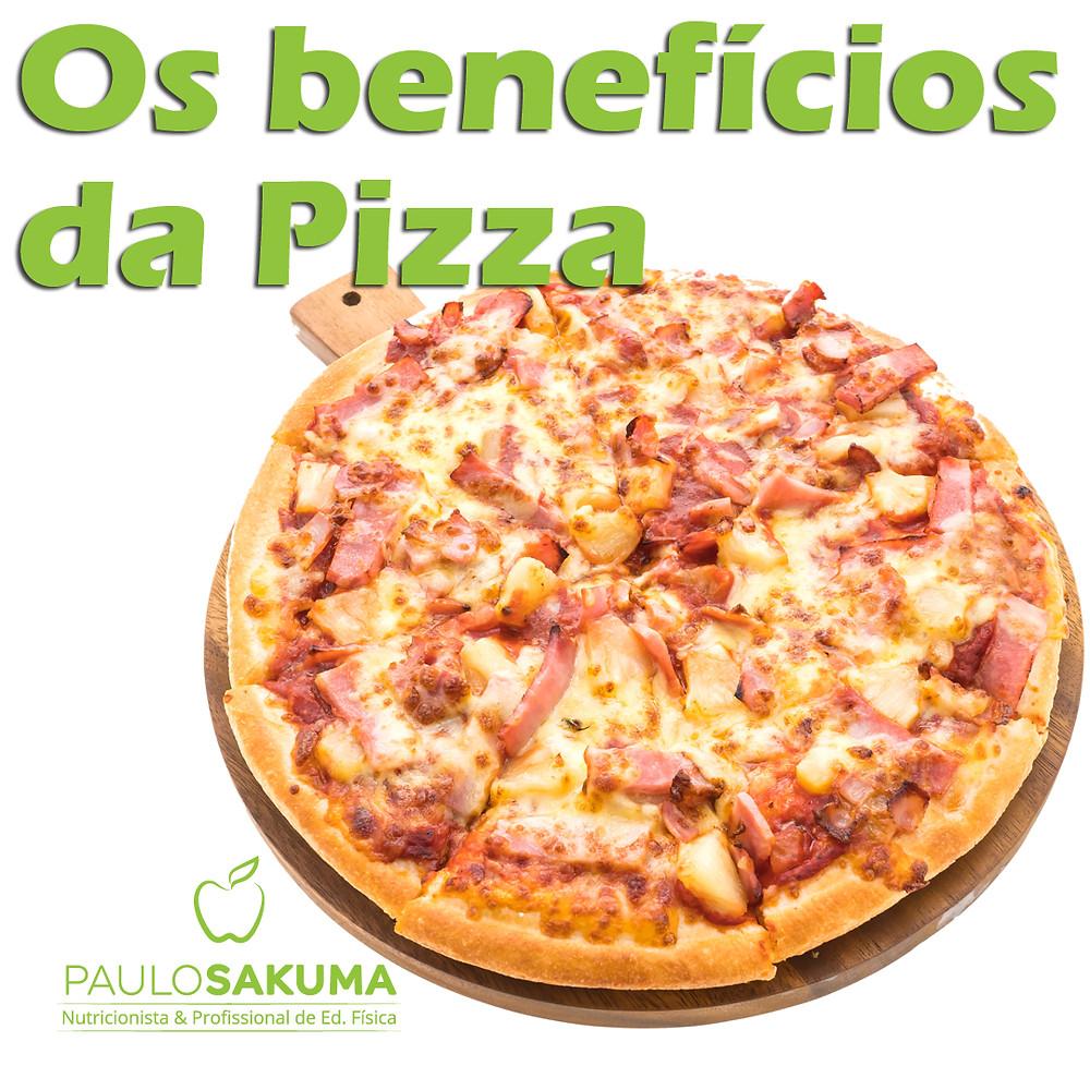benefícios da pizza
