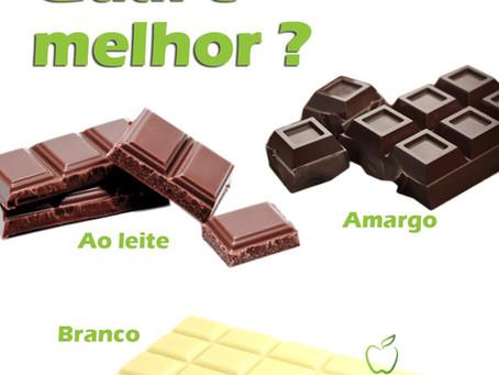 Qual chocolate é melhor ?