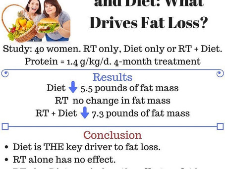 O que perde mais peso dieta ou exercício ?