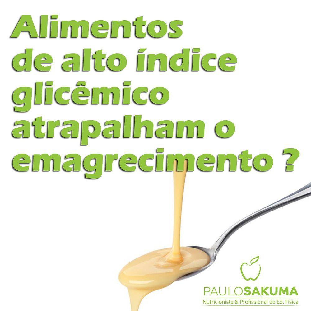 alimentos de alto índice glicêmico engordam ?