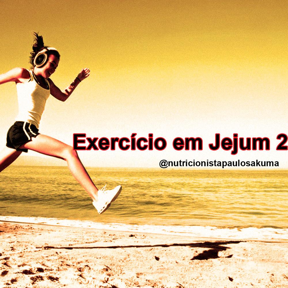 exercicio em jejum