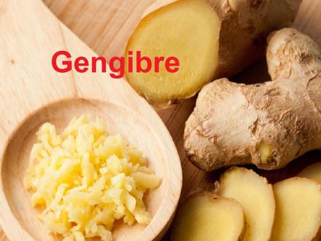 Gengibre Anti-inflamatório e Antioxidante