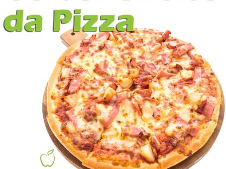 Os benefícios da pizza