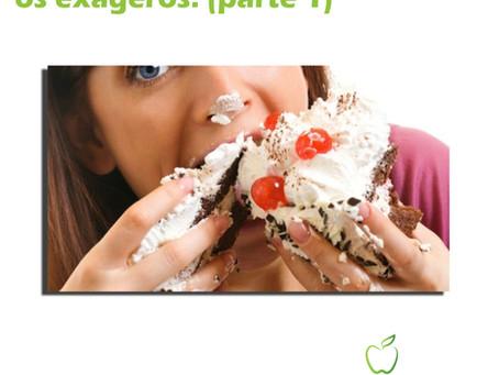 Dicas para controlar os exageros na alimentação (parte1).