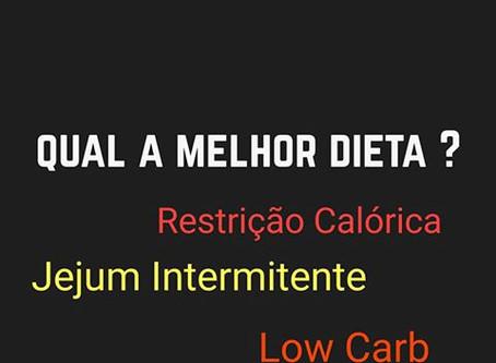 Qual a Melhor Dieta?