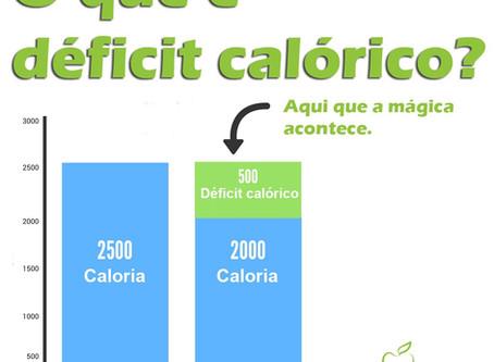 O que é déficit calórico?