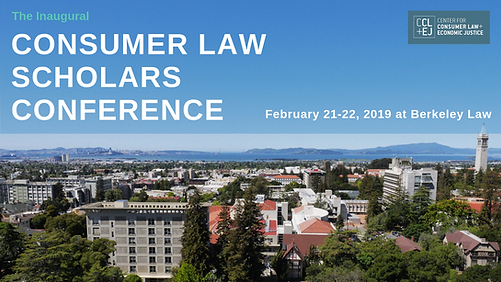 Consumer Law Scholars Conference 2019