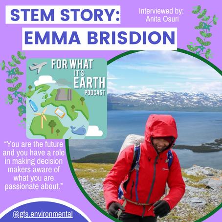 STEM Stories: Emma Brisdion