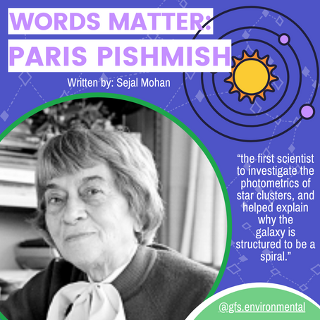 Words Matter: Paris Pishmish - Armenian Astronomer