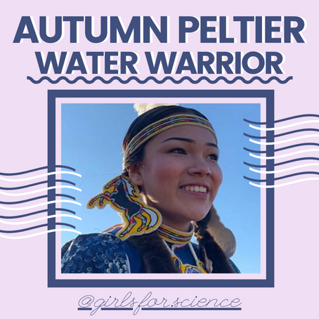 Words Matter: Autumn Peltier - Water Warrior