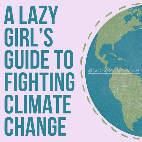 Words Matter: A Lazy Girl's Guide to Fighting Climate Change