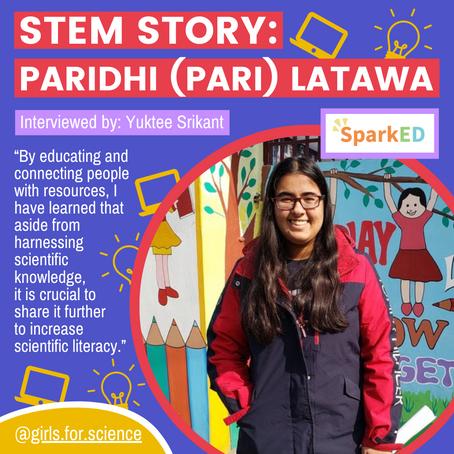 STEM Story: Paridhi (Pari) Latawa