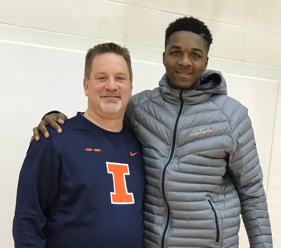 Illini Basketball Recruiting - Tevian Jones visit