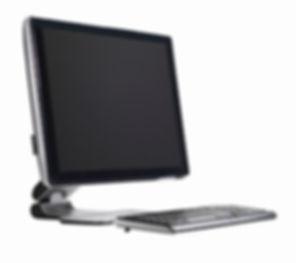 Tela e teclado