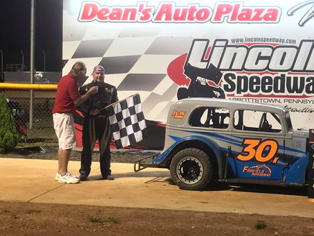 Kearchner Scores First Legends Victory