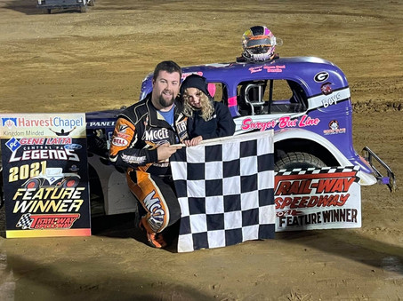 McClelland Wins at Trail-Way and Extends Track Points Lead