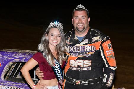 Travis McClelland wins at Trail-Way Speedway