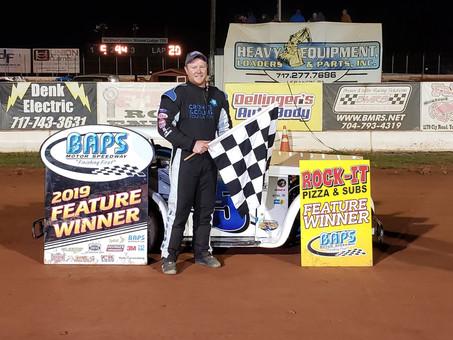 Josh Schrum Wins Exhibition Event at BAPS Motor Speedway