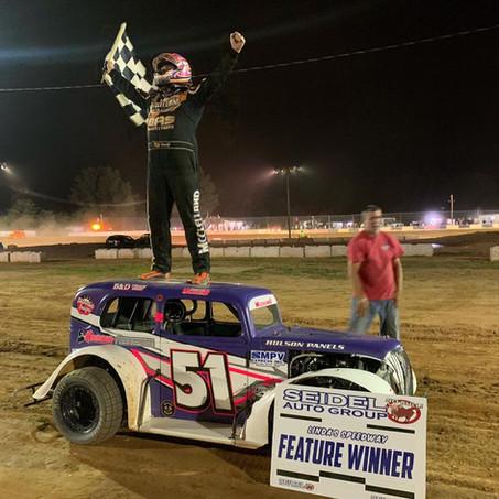 Travis McClelland Drives to Victory Lane at Linda's