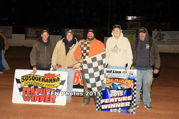 Chad Earnst Wins at Trail-Ways Speedway!