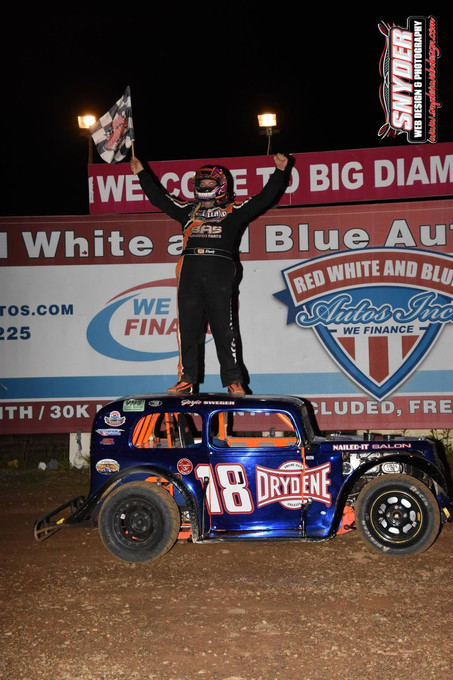Travis McClelland Makes It Two-In-A-Row With Win At Big Diamond