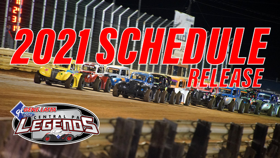 Central PA Legends Release 2021 Dirt Series Schedule