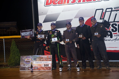 Reyna, Lewis, Clanton & Ott Crowned Champions