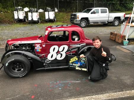 Daniel Carter 1st Repeat Winner in Asphalt Series