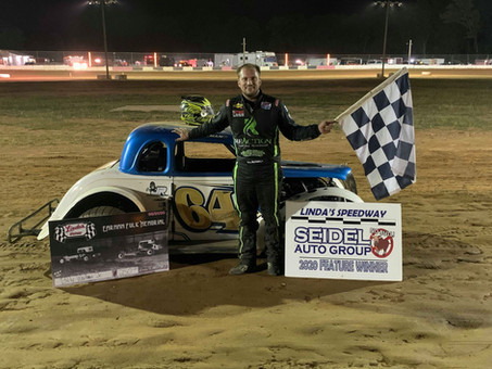 Workman Keeps Momentum Going with Linda's Speedway Win