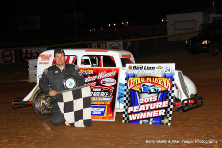 Chad Glatfelter Picks Up the Win at Lincoln Speedway!