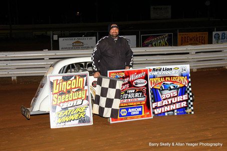 Chad Earnst Wins His First Career Lincoln Speedway Win!