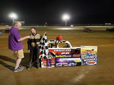 Bill Diehl Claims Hahn Memorial Victory & Travis Perry Wins Rain-Delayed Armin Hostetter Memoria