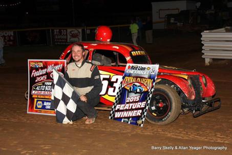 Bill Diehl Wins at Lincoln Speedway!