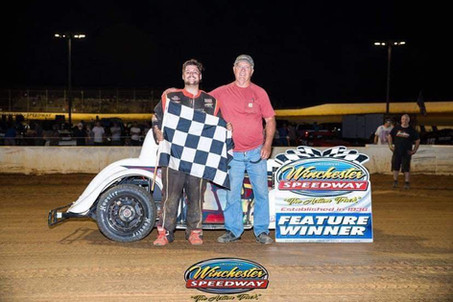 Austin Bellemare Wins Again at Winchester