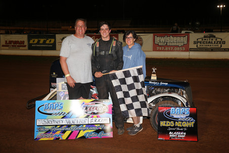 Stephen Wurtzer Takes Advantage of Late Race Spin to Win BAPS 1st