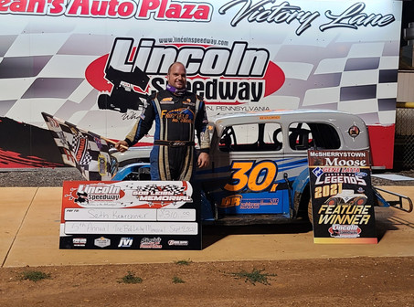 Kearchner Scores Win in Final Lincoln Race of 2021; Diehl Track Champ